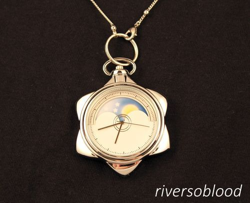 Sailor Moon Star Locket Watch Pocketwatch Starry Sky Cosplay Manga Necklace 2 | eBay