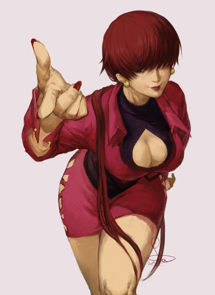 Shermie The King Of Fighters The KOF Pinterest Game