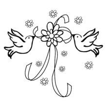 Coloring page: Marriage (Holidays and Special occasions) #28 - Printable coloring pages