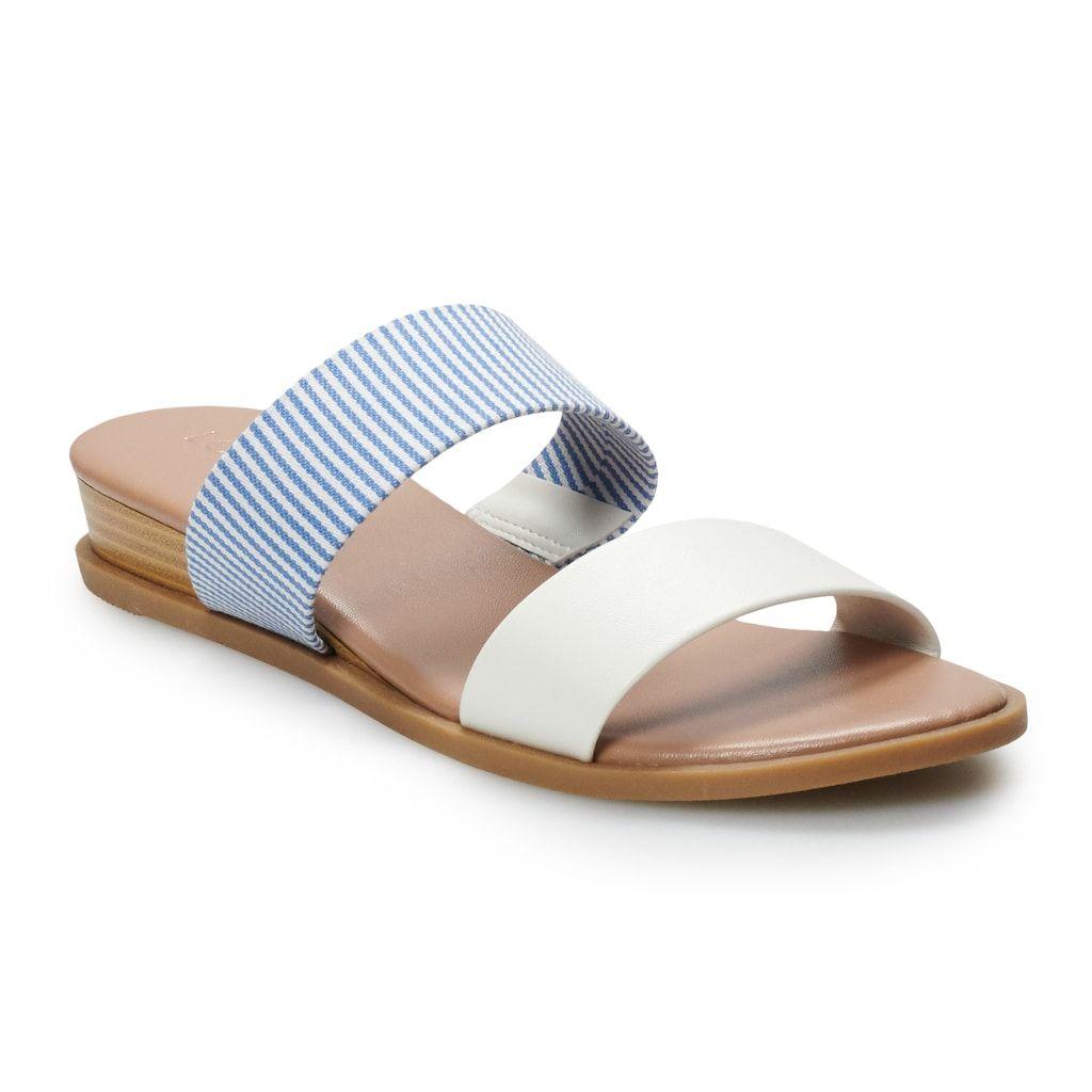 LC Lauren Conrad Peep-Toe Platform Wedges @Lauren Davison