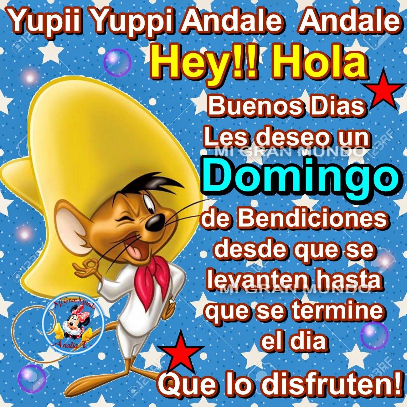 Hey!!Hola Buenos Dias Les Deseo Un Domingo De Bendiciones