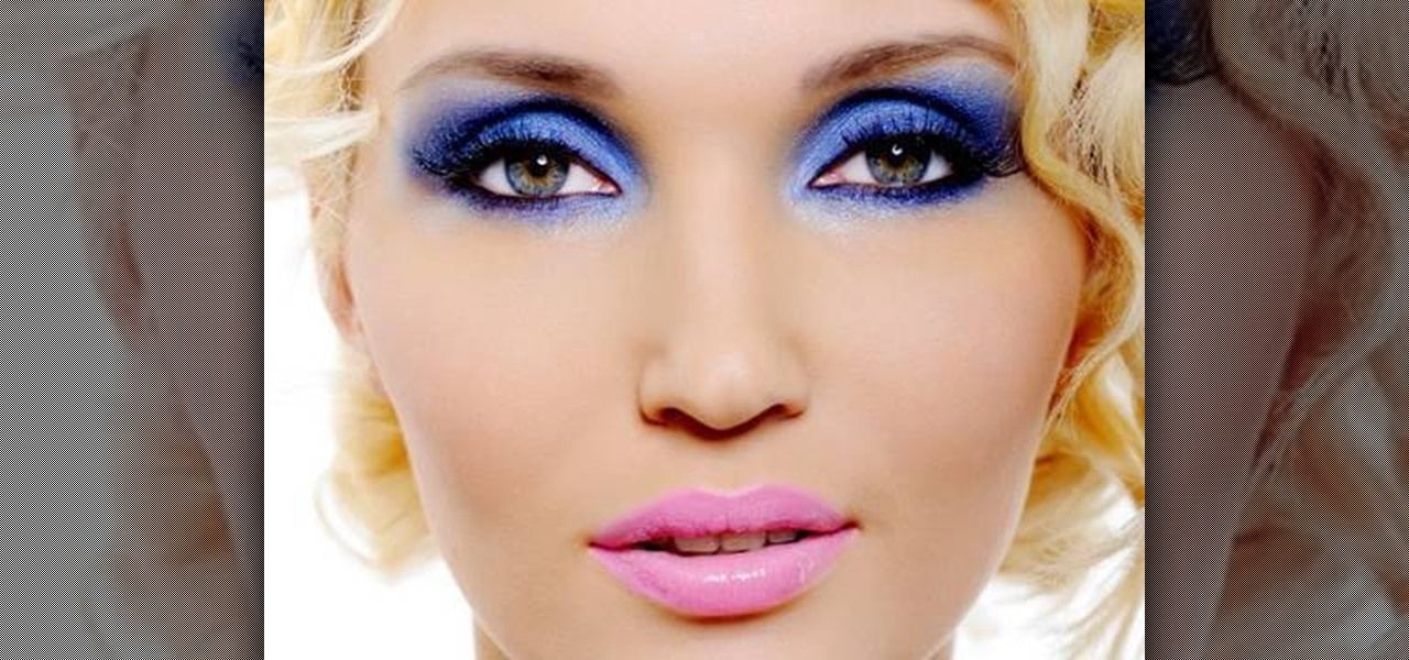 70s Disco Makeup Blue Eyeshadow Google Search With Images