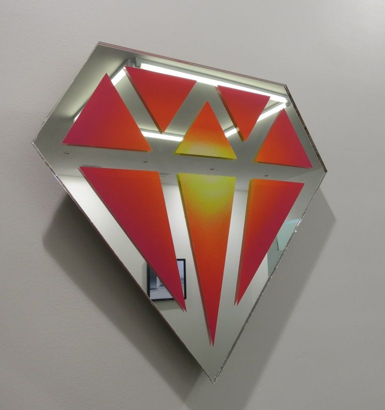 Le diamantaire : diamant arc-en-ciel