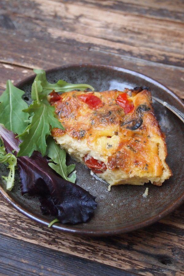 clafoutis tomate mozzarella et olive paris dans ma cuisine paris dans ma cuisine food. Black Bedroom Furniture Sets. Home Design Ideas