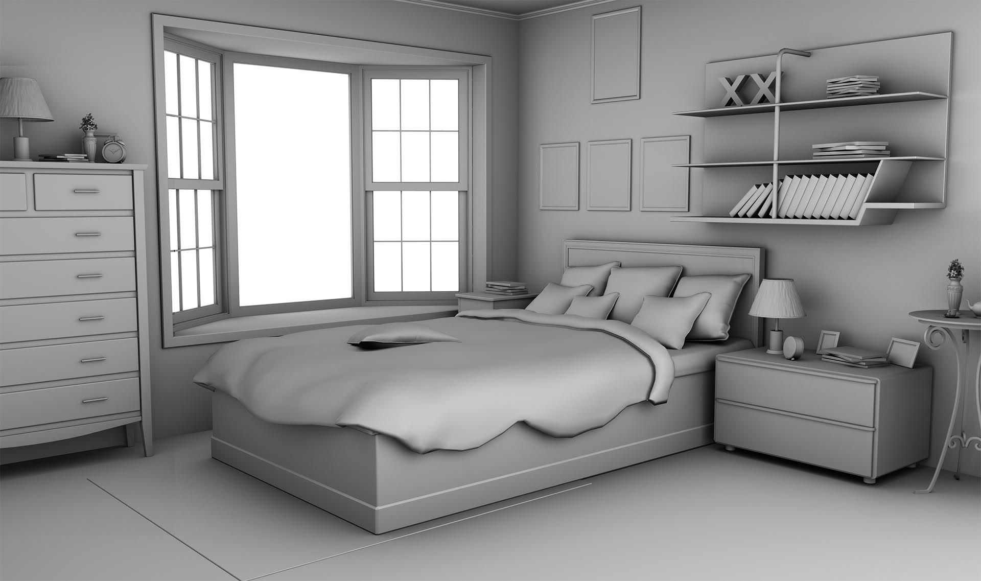 Bedroom White Background Int Demi Nice Bedroom Day Episode Backgrounds