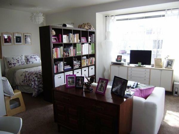 trennwand in einer schönen einzimmerwohnung living Pinterest - einzimmerwohnung