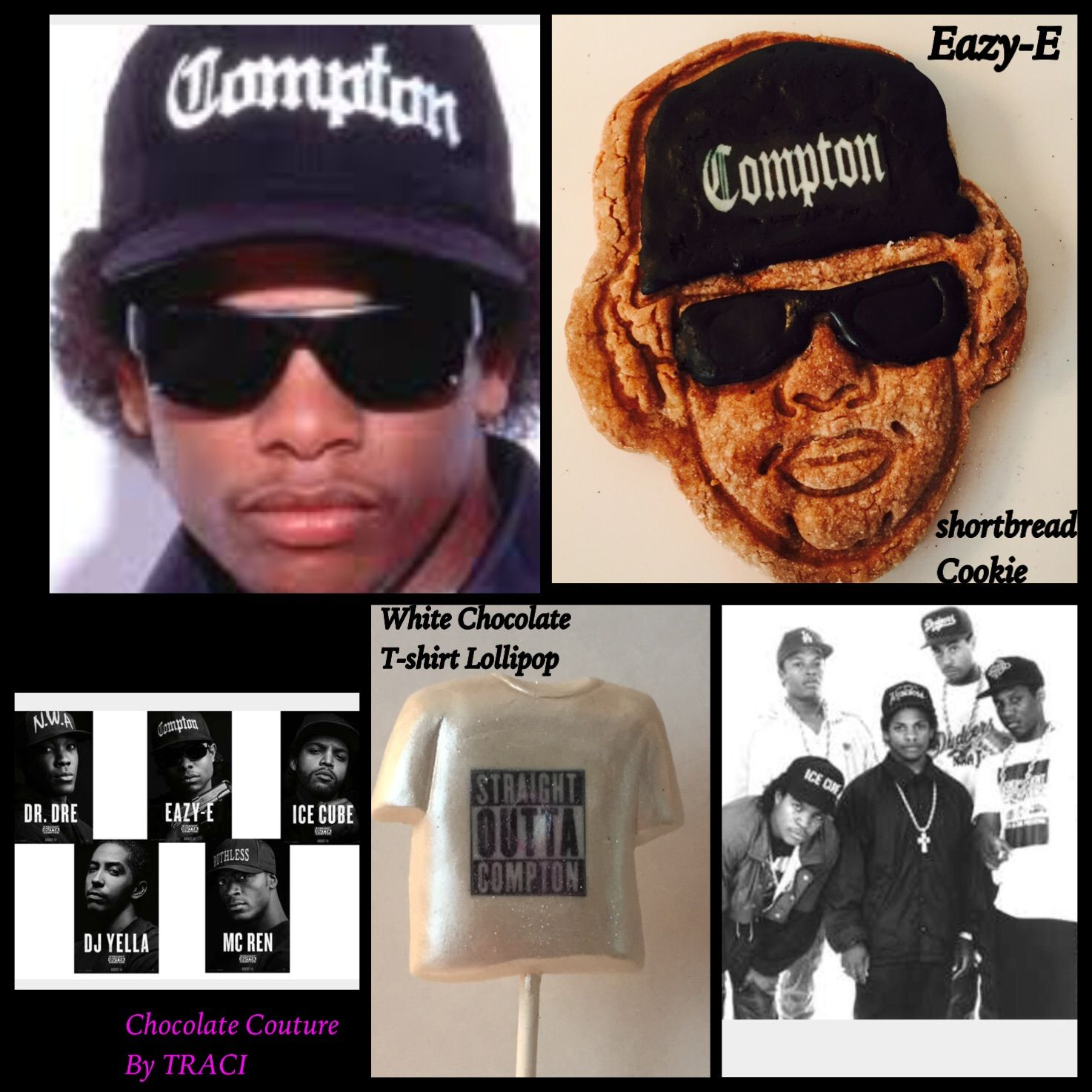 Chocolate Couture by Traci Straight Outta pton order Eazy E