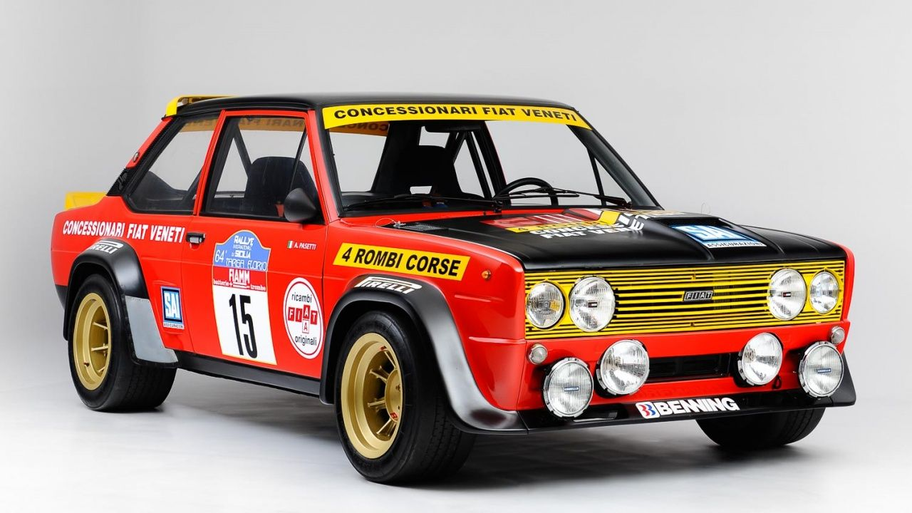 1977 Fiat 131 Abarth Gr 4 Classic Driver Market With Images