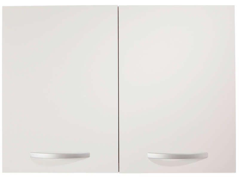 Meuble Haut 80 Cm 2 Portes Spoon Coloris Blanc Vente De Meuble Haut Conforama Avec Images Meuble Haut Cuisine Meuble Haut Meuble Cuisine