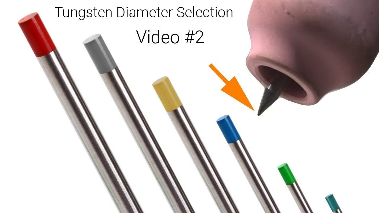TIG Welding Myth Tungsten Diameter Selection (Video 2 of
