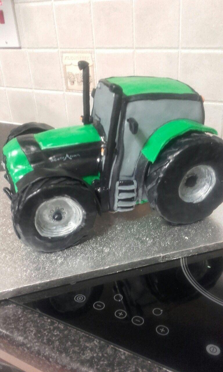 Deutz Fahr Tractor Cake Motivtorten Traktor Torte Geburtstagstorte