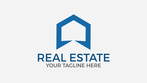 REAL ESTATE free vector logo design template. Download now !