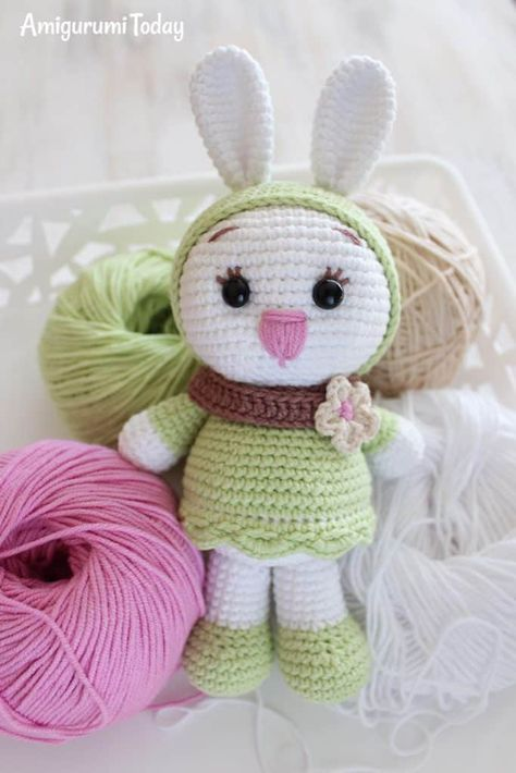 Free Sunny Bunny Crochet Pattern Barbs Ideas I Like Pinterest