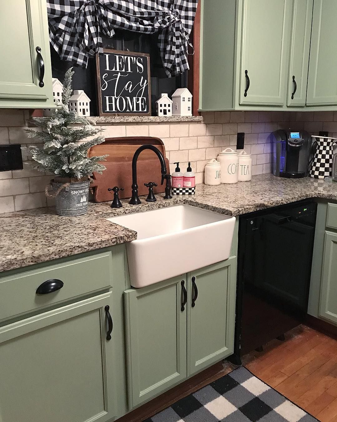 Heather On Instagram Christmas Came Down In The Kitchen Today And Left Me A Bit Confused This Kitchen H In 2020 New Kitchen Cabinets Kitchen Remodel Country Kitchen