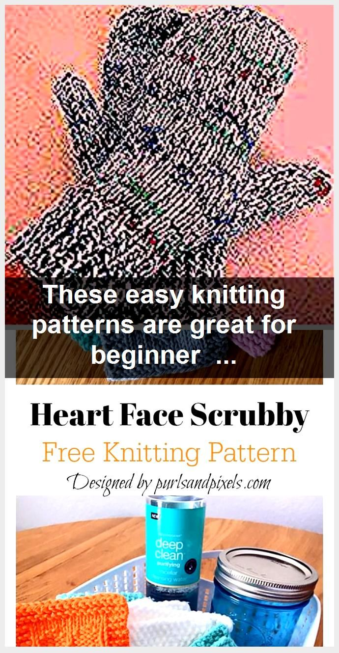 These easy knitting patterns are great for beginner knitters and all knitters wh...,  #Beginner #Easy #Great #Knitters #Knitting #Patterns