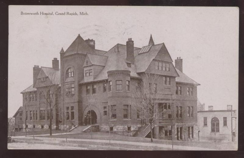 Butterworth Hospital C 1908 Grand Rapids Mi Grand Rapids