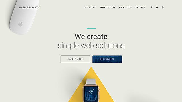 create a wordpress theme page with this slider revolution