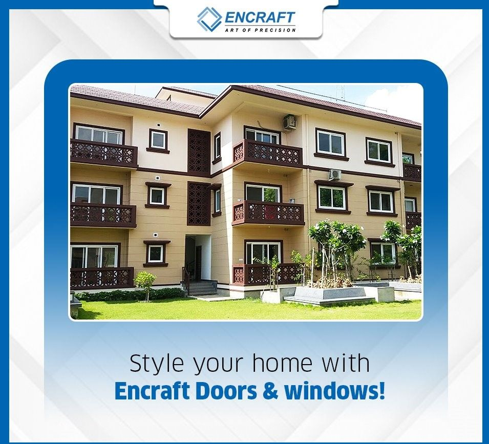Encraft Doors And Windows Chennai In 2020 Upvc Sliding Doors Upvc Windows Fenestration
