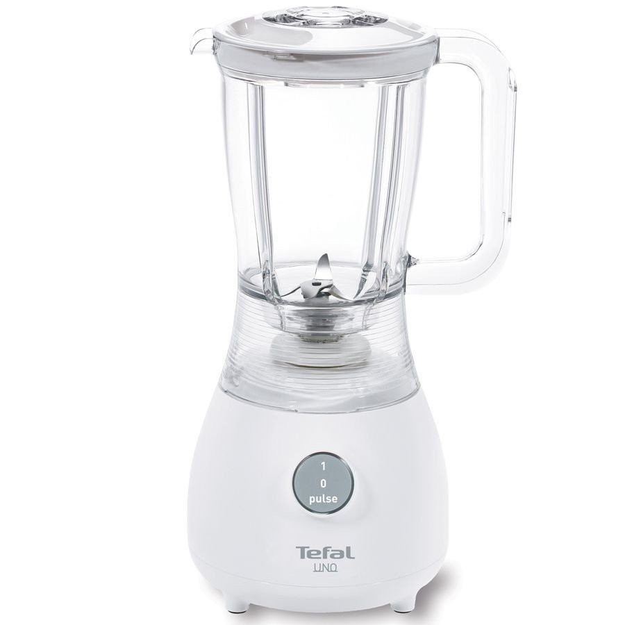 #foodblender  Save 20% off the regular price  The Tefal Uno blender is compact and easy to use. This great quality compact blender from Tefal has a powerful motor with good blending capacity. It is suitable for all types of food and features a safety interlocking mechanism.