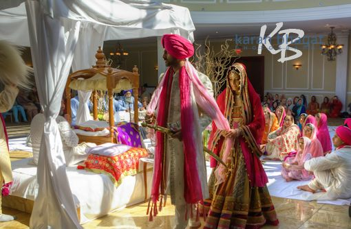 Indian Sikh Wedding At The Merion In New Jersey
