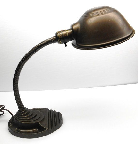 Vintage Eagle Gooseneck Lamp Etsy Lamp Lamp Decor Table Lamp