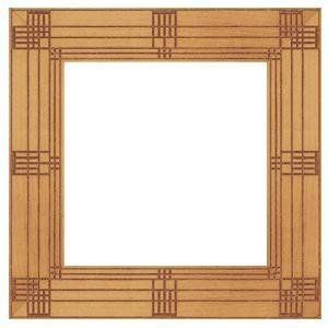 Frank Lloyd Wright Heller House Picture Frame Frank Lloyd Wright