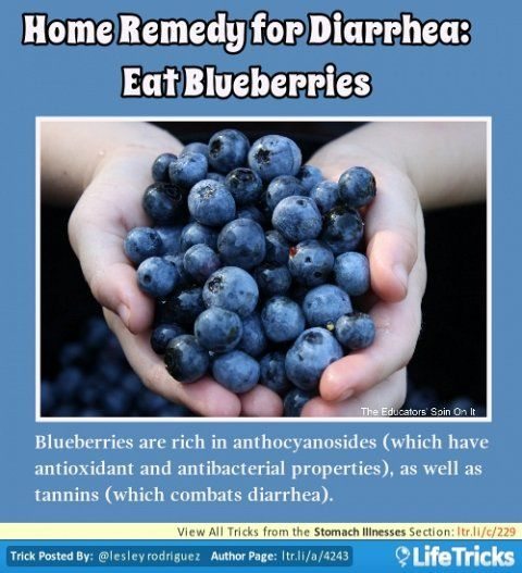 Stomach Illnesses - Home Remedy for Diarrhea: Eat ...