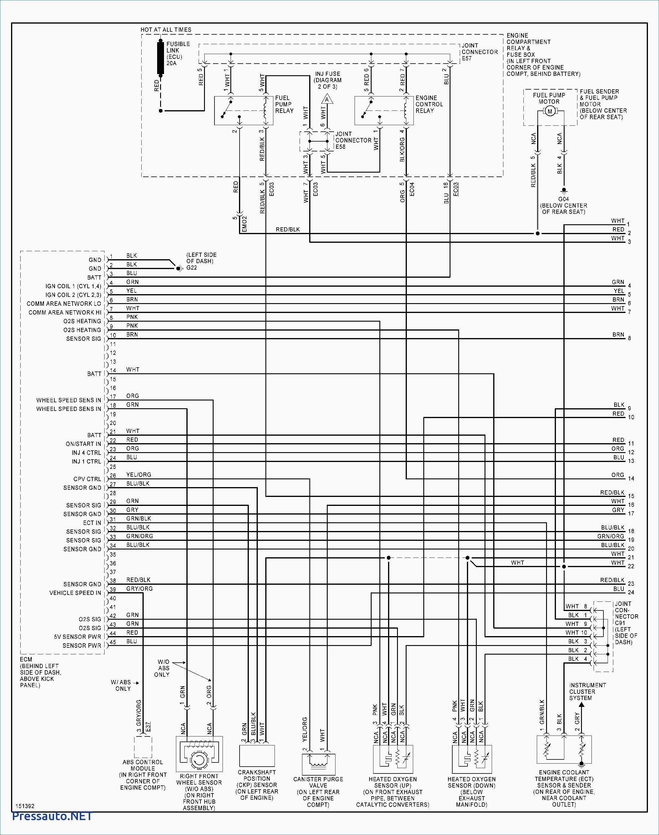 2001 Hyundai Elantra Engine Diagram