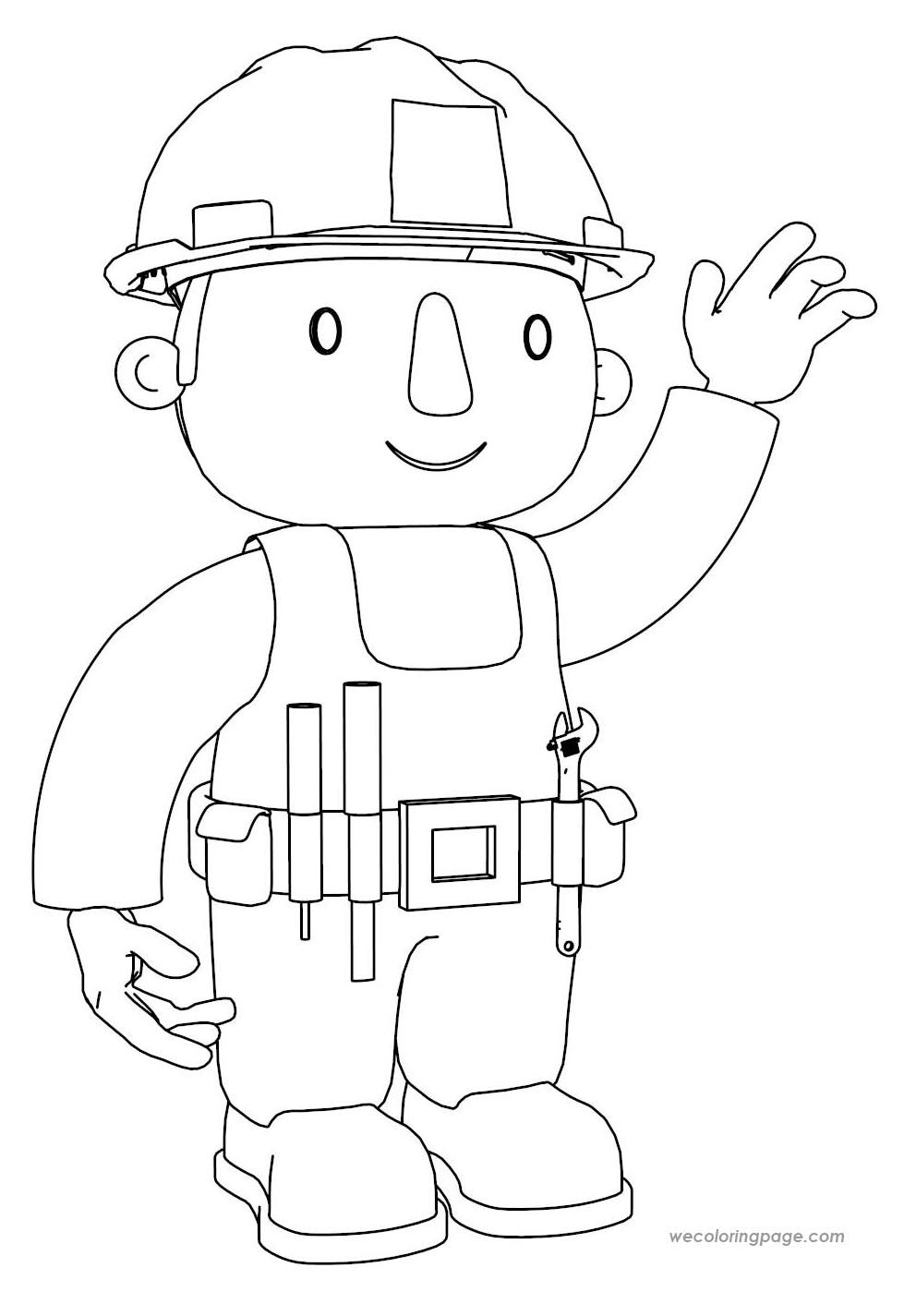 Bob The Builder Coloring Pages | Pinterest | Bobs