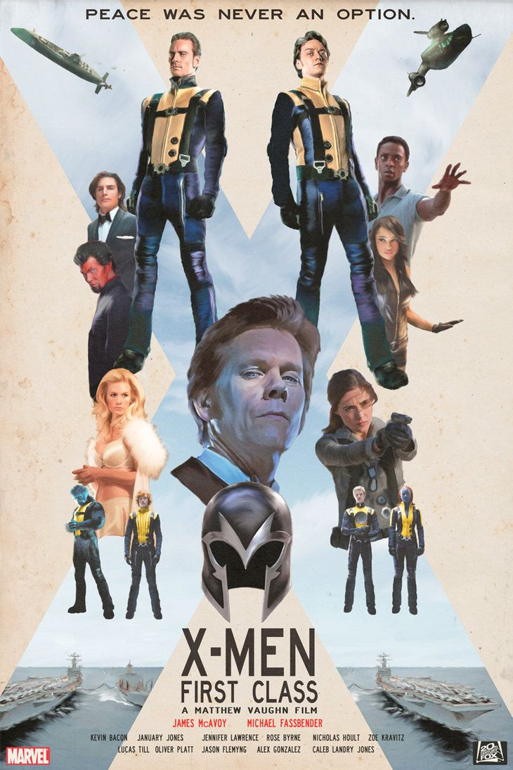 X Men First Class X Men Class Poster Superhero Movies