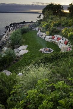 residential steep slope landscaping