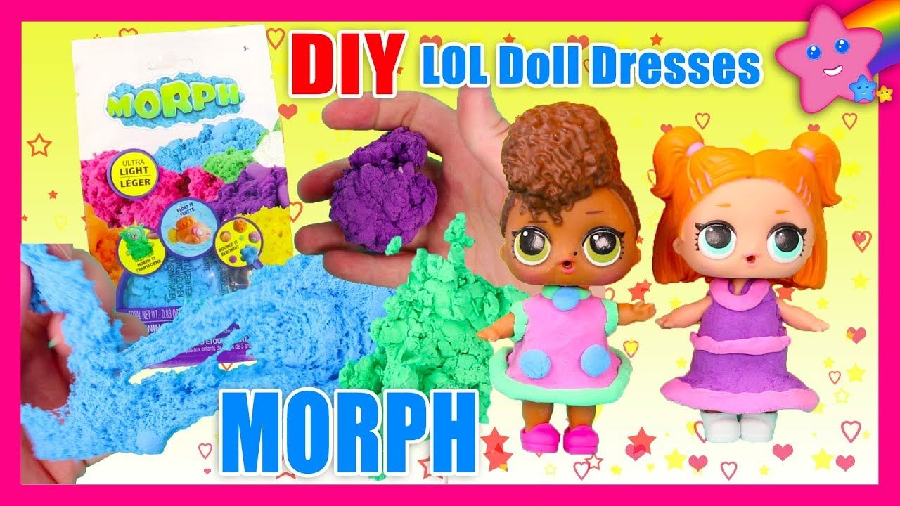 Morph Modeling Compound Review + DIY LOL Surprise Doll