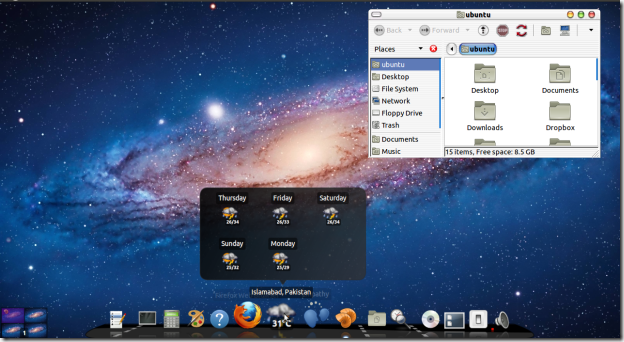 ubuntu like mac os lion
