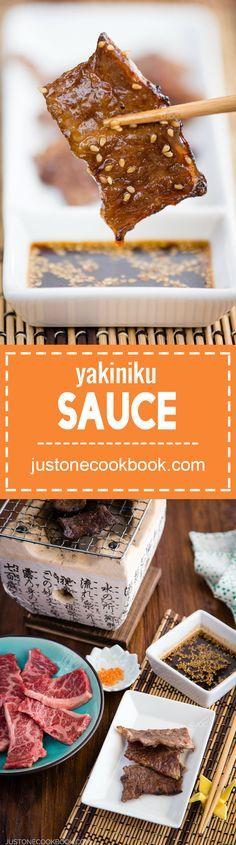 Yakiniku Sauce (焼き肉のタレ) | Easy Japanese Recipes at JustOneCookbook.com
