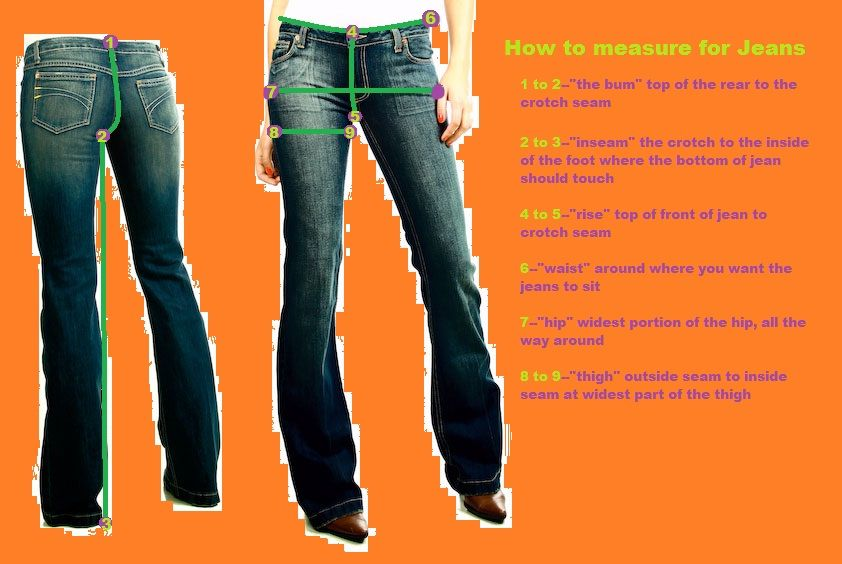 How to measure for jeans fashion womens fashion women