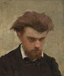 Henri Fantin-Latour - Self-Portrait - 1861 - Painting