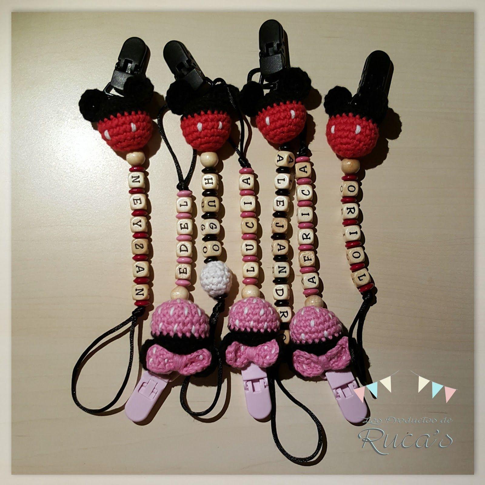 Patrón chupetero Mickey & Minnie | Amigurumi, Crochet and Natale