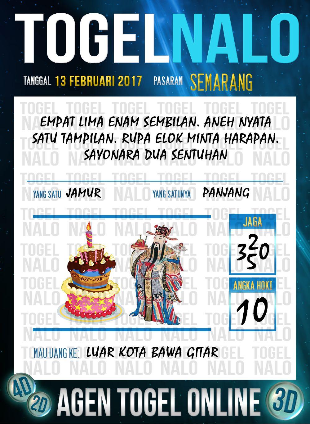 Tafsir Acak 2d Togel Wap Online Live Draw 4d Togelnalo Semarang 13 Februari 2017 Banda Aceh Tanggal