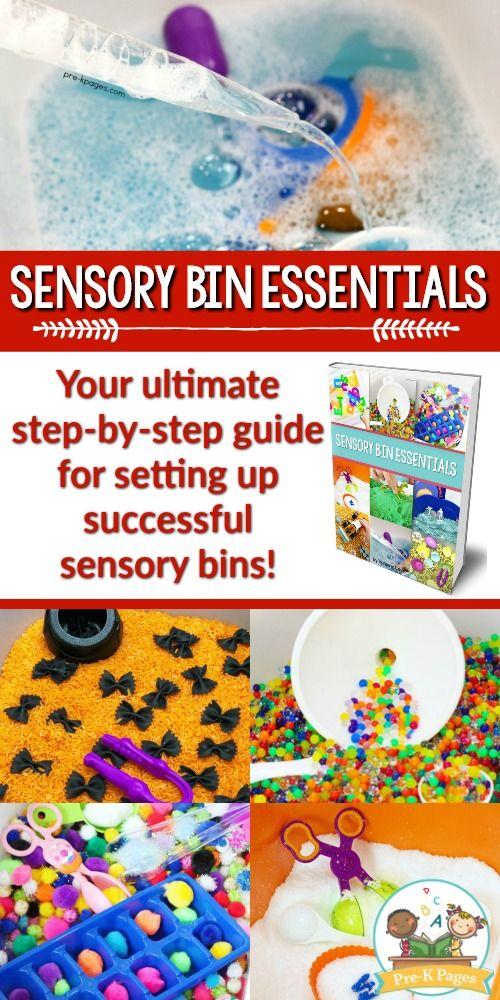 Sensory Bin Essentials Guide #preschoolclassroomsetup