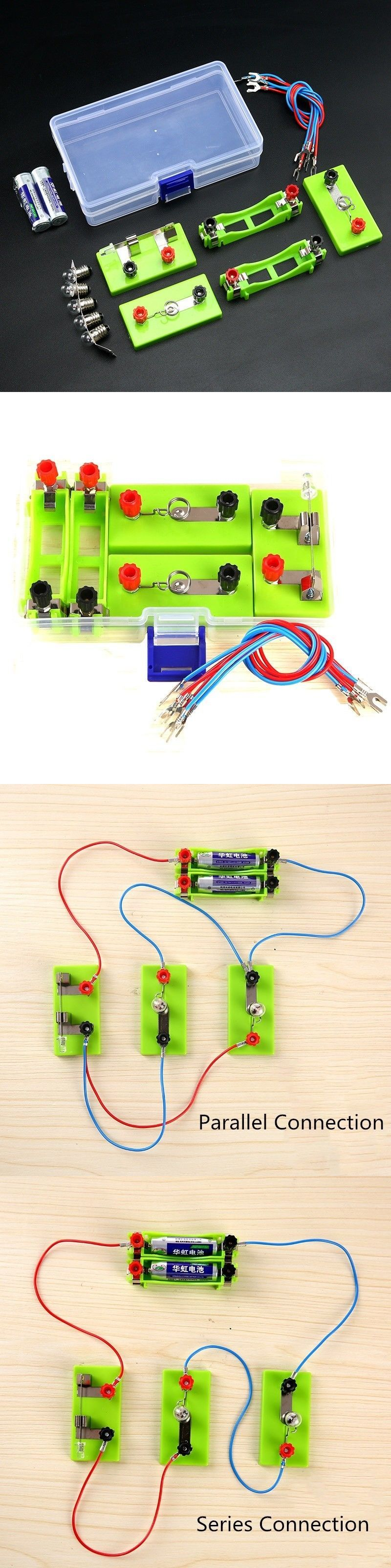 Electric Circuit Kits Children School Science Toys Diy Montessori For Kids Other And Nature 11737