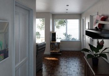Apartment Visualisation done in 3D and to be photo realistic