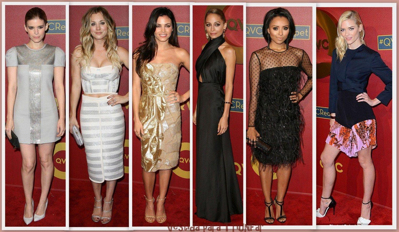Muchísima famosa en el evento QVC Red Carpet Style  celebrado poco antes de los Oscars 2014