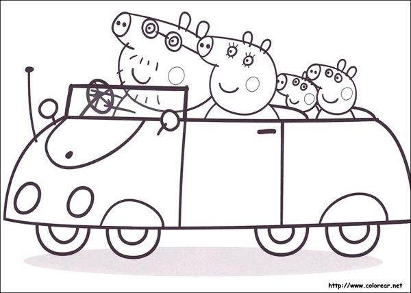 peppa pig Ausmalbilder Pinterest Embroidery - new free coloring pages for peppa pig
