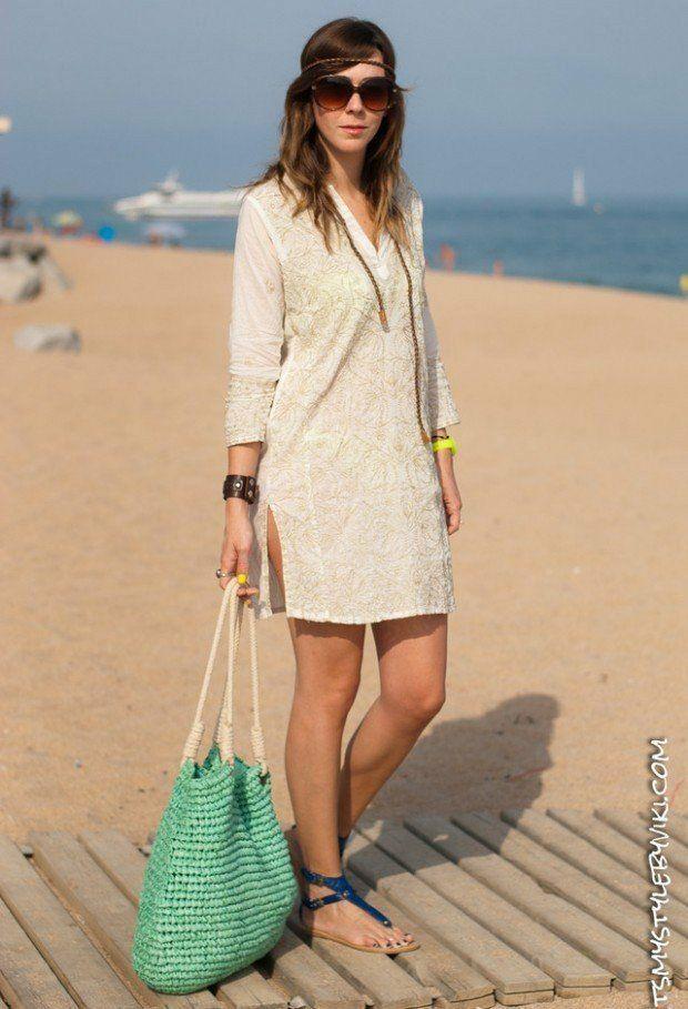 e328cad5ae Tenue de plage moderne en 25 idées pour vos vacances d'été ...