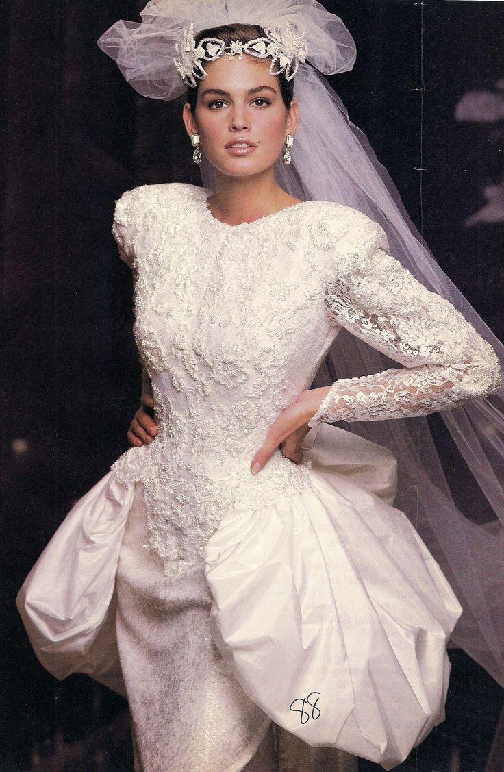 Wedding dress cindy crawford us weddingdress weddings