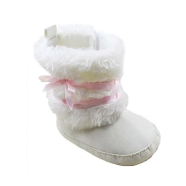 Fluffy Winter Baby & Toddler Anti-Slip Boots
