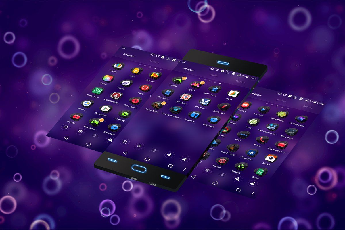 Galaxy Theme FULL APK Free Download : Galaxy Free Themes for Android