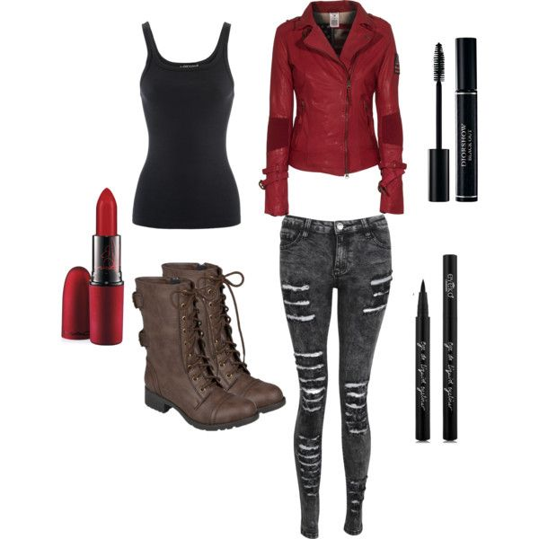Melody McCall Combat Outfit 1 Teen Wolf Fanfiction -Little