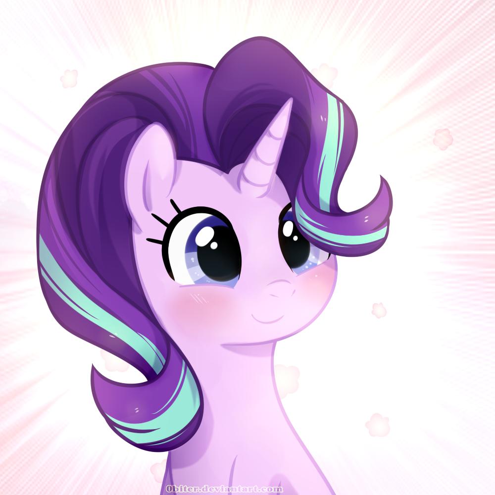 #1117682 - artist:0biter, cute, glimmerbetes, safe, solo, spoiler:s06e01, spoiler:s06e02, starlight glimmer, the crystalling - Derpibooru - My Little Pony: Friendship is Magic Imageboard