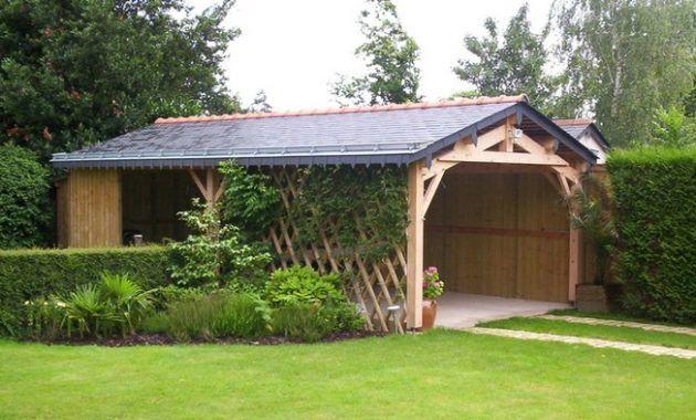 Déco Abri Jardin Ouvert Bois 32 Lille 17002150 Salle Photo Abri De ...